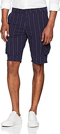 Tom Tailor Uomo Pantaloni Corti Chino Pantaloncini Bermuda Short Blu Nuovo