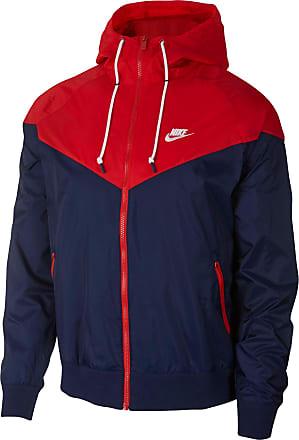 Nike Jacke dunkelblau / rot