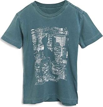 Reserva Mini Camiseta Reserva Mini Infantil Estampada Verde