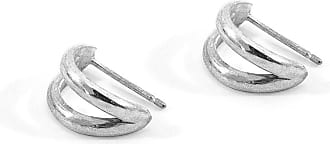 Anchor & Crew Huntington Surf Silver Earring Studs - One size fits all