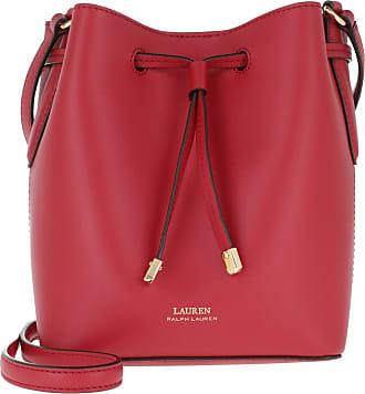 Lauren Ralph Lauren Debby II Drawstring Mini Bag Red Truffle