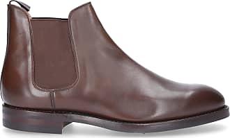 Chelsea boots herren braun   Braend Chelsea Boots 24986