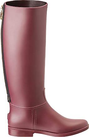 Pinko Womens Bomba Wellington Boots, Red (Bordeaux Intenso R62), 5.5 UK