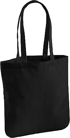 Westford Mill EarthAware Organic Cotton Spring Tote Bag (One Size) (Black)