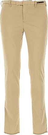 PT01 Pants for Men On Sale in Outlet, Beige, Cotton, 2017, 30