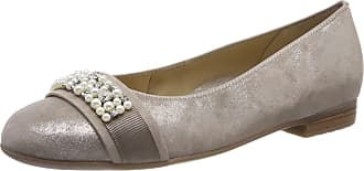 Ara Womens Sardinia 1231320 Closed Toe Ballet Flats, Beige Taupe 05, 5.5 UK