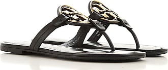 Tory Burch Sandals for Women On Sale, Black, Leather, 2019, 3.5 4 4.5 5.5