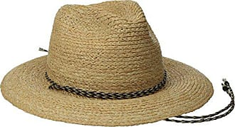 Brixton Mens Bodhi Fedora Hat, Tan, X-Small