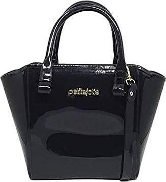 Petite Jolie PJ3939 Bolsa Shopper Shape Bag Express Petite Jolie antiga PJ1770 (Preta)