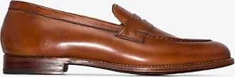 Grenson Mens Brown Lloyd Leather Loafers