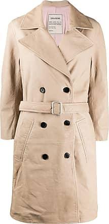 Zadig & Voltaire belted trench coat - NEUTRALS