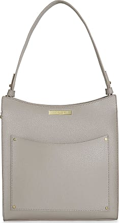 Katie Loxton Pacey Pocket Womens Vegan Leather Shoulder Bag Grey