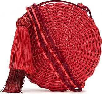 Waiwai Bolsa Petit Balaio vime laqueado - Vermelho