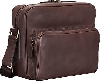 2f84f131a9de9 Maxwell Scott Herren Leder Handtasche in Braun - Schultertasche