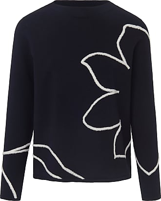 Gerry Weber Jumper long sleeves and floral motif Gerry Weber blue