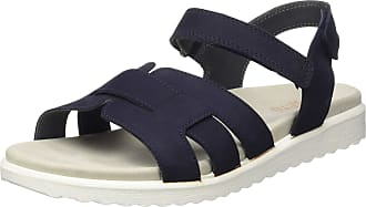 Legero Womens Savona Ankle Strap Sandals, Blue (Oceano 83), 8 UK