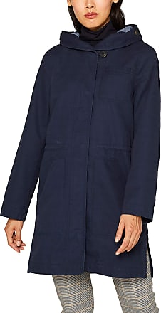 EDC by Esprit Womens 099cc1g027 Coat, Blue (Navy 400), Small
