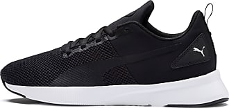 Puma Womens PUMA Flyer Running Shoes, Black/White, size 10.5, Shoes