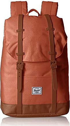 Herschel Retreat Mid-Volume Backpack, Apricot Brandy/Saddle Brown, One Size