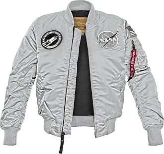 Alpha Industries MA-1 VF NASA Bomberjacke (Sale) silver, Größe XXL