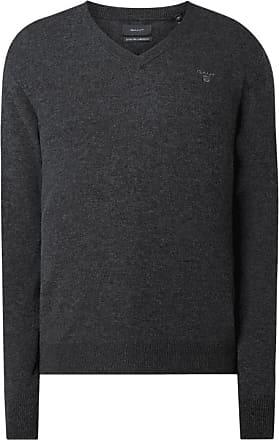 Gant Herren Pullover in sattem rot 100% Baumwolle XL