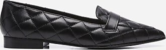 Flattered Alexandra Black Quilted Leather
