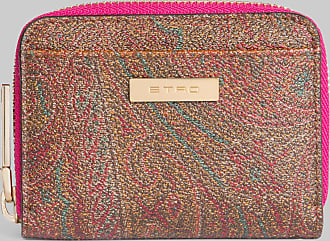 Etro Paisley Purse With Multicoloured Interior, Woman, Brown