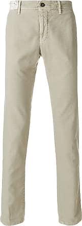 Incotex straight-leg suit trousers - NEUTRALS
