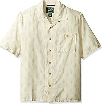 Woolrich Mens Altitude Eco Rich Modern Fit Shirt, Wool Cream Large