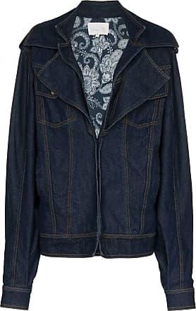 Johanna Ortiz Jaqueta jeans Its All Good - Azul