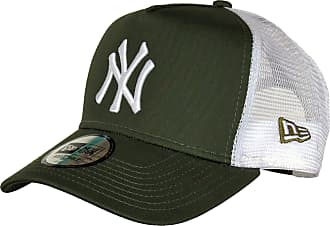 266921fcf70 New Era NY Yankees A-Frame Olive Trucker Cap
