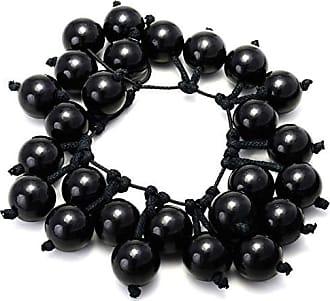 Tinna Jewelry Pulseira Perolada (Preto)
