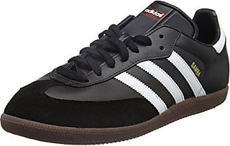 new style afdd7 f36d7 adidas Originals Samba, Baskets Basses Femmes, Noir (Black Running White),