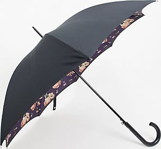 Fulton Umbrellas Bloomsbury Midnight Bloom Umbrella-Black