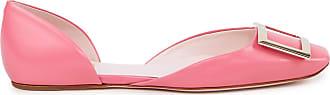 Roger Vivier Flats Trompette Dorsay Bal Pink