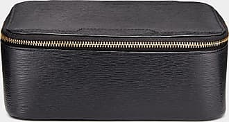 Anya Hindmarch Bespoke Travel Watch Box London Grain in Black