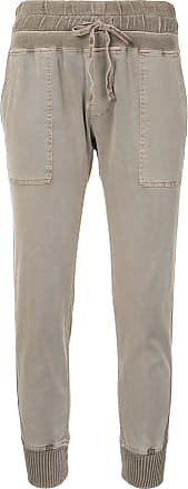 James Perse fitted jersey trousers - Neutrals
