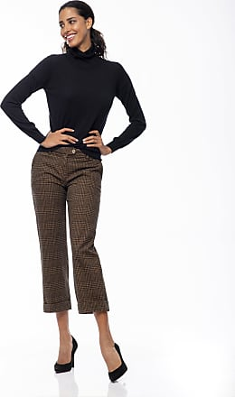 Re-hash Pantalone cropped con taglio dritto