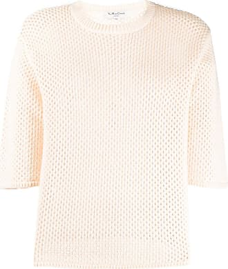 Ymc You Must Create open-knit cotton top - Neutrals