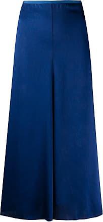 Forte_Forte high waisted midi skirt - Blue