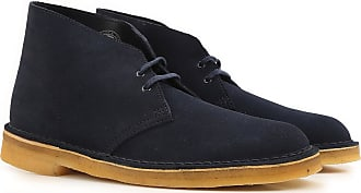 Clarks Desert Boots Chukka for Men On Sale in Outlet, Dark Midnight, Suede leather, 2017, 10.5