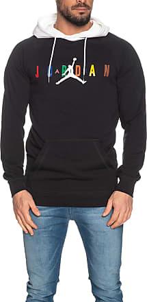 Nike Jordan Nike M J SPRTDNA HBR PO Hoodie Mens Pullover Hoodie CD5749-010 Black/White - - M
