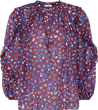 10793fb33dc56 Ulla Johnson Lillian cotton and silk-blend blouse