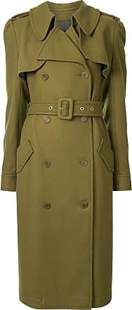 Karen Walker Magmatic buttoned trench coat - Green