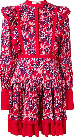 Three Floor Not A Wall Flower dress - Red