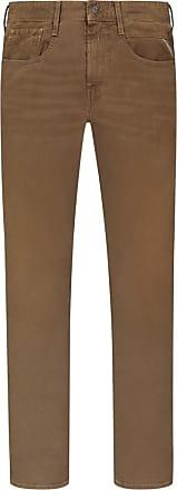 Replay Übergröße : Replay, Modische Jeans mit Stretchanteil, Anbass in Braun für Herren