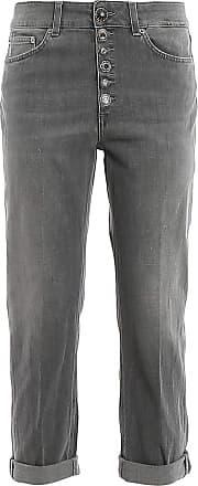 Dondup Fashion Woman DP268BDS0272DAH8DD999 Grey Cotton Jeans | Spring Summer 20