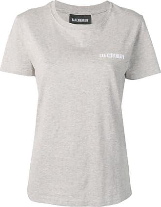Han Kjobenhavn Camiseta com logo - Cinza