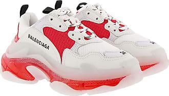 Balenciaga Sneakers - Triple S Sneaker White/Orange - white - Sneakers for ladies