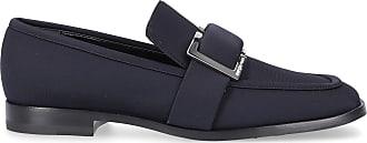 Sergio Rossi Slip On Shoes SR PRINCE polyamide Logo black